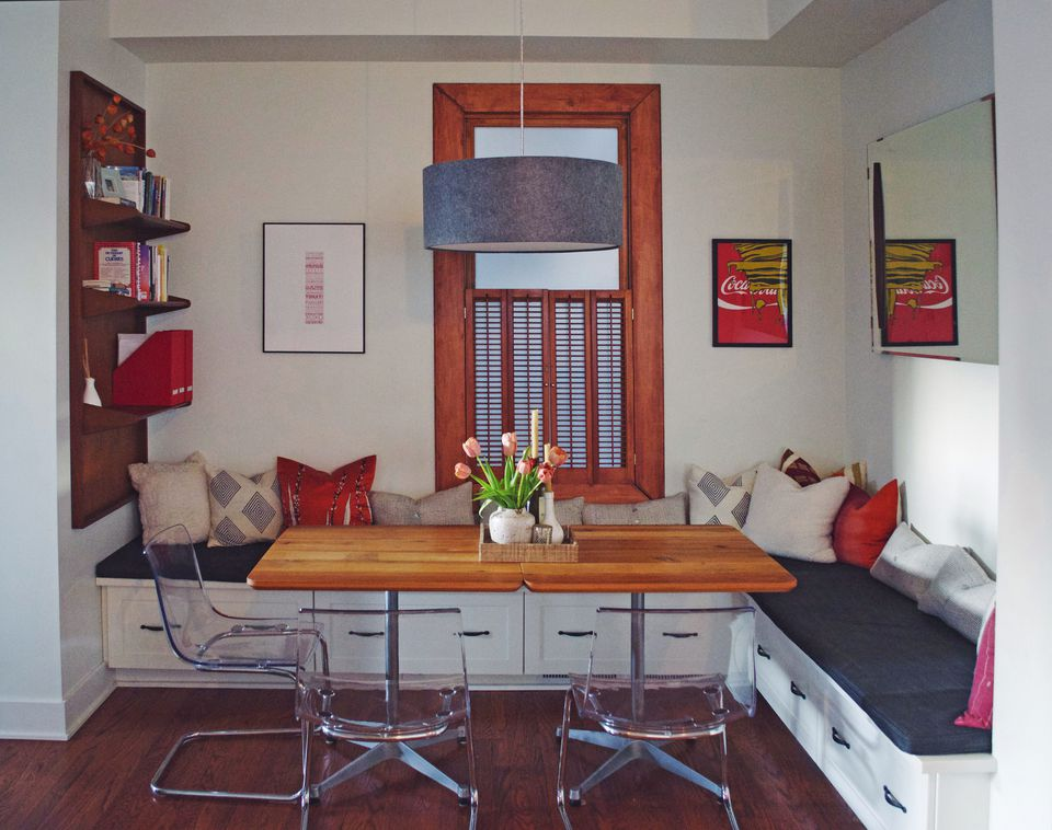 Double Duty Dining Room. This Dining Room Doubles as a Home Office