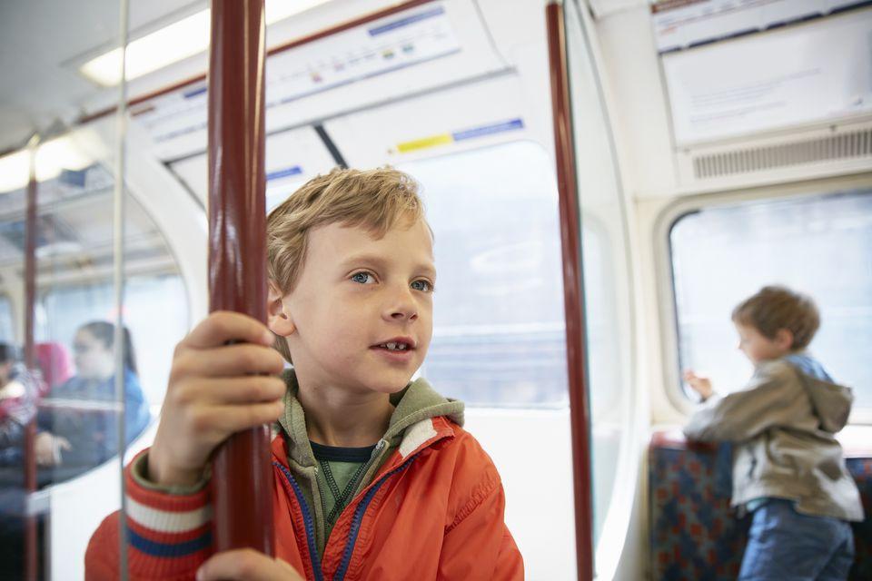 Children London Tube