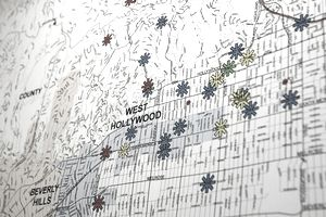 crime map of Los Angeles