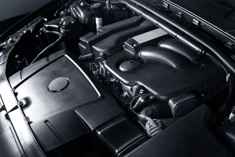 Modern car engine