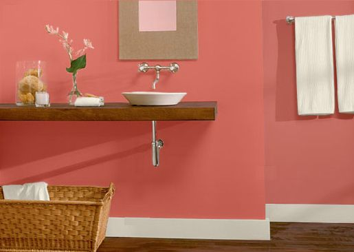 Make And Take Room In A Box Elizabeth Farm: Gorgeous Powder Room Paint Color Ideas