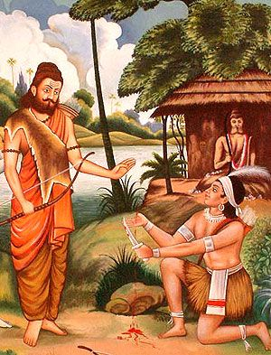 From the Mahabharata