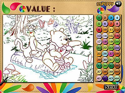 Great Places to Color by Number Online