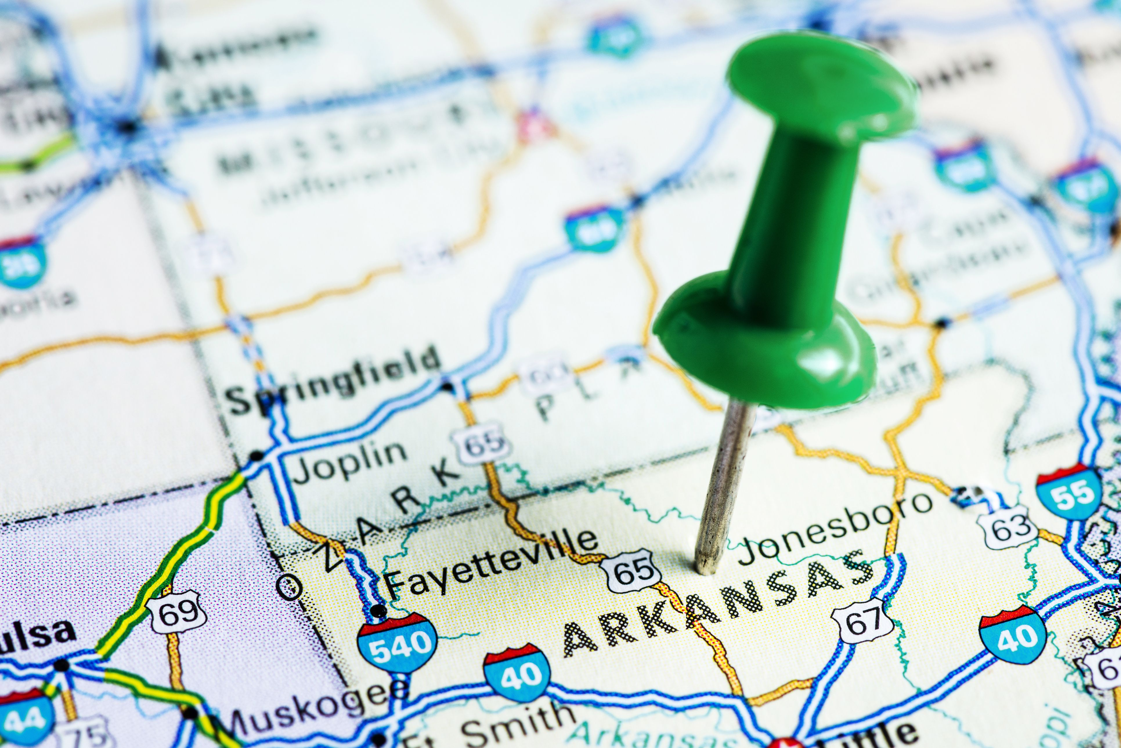 Arkansas travelling jobs