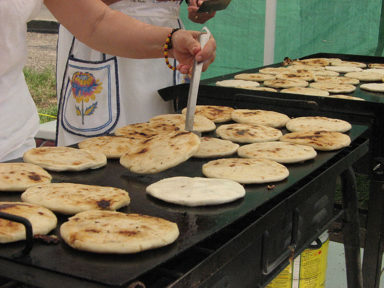 pupusas for lesson on the conditional tense