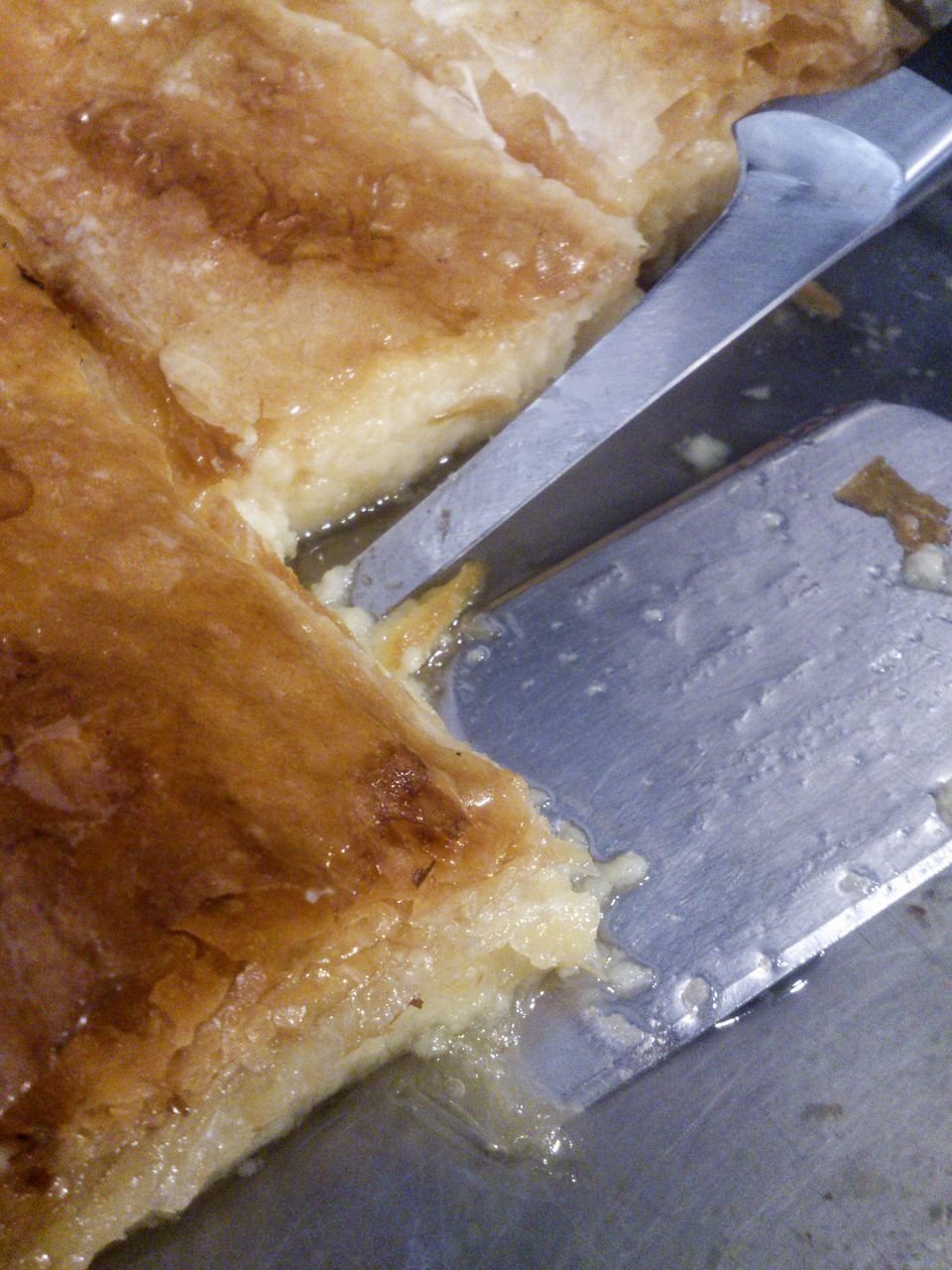 sweet Greek phyllo pastry