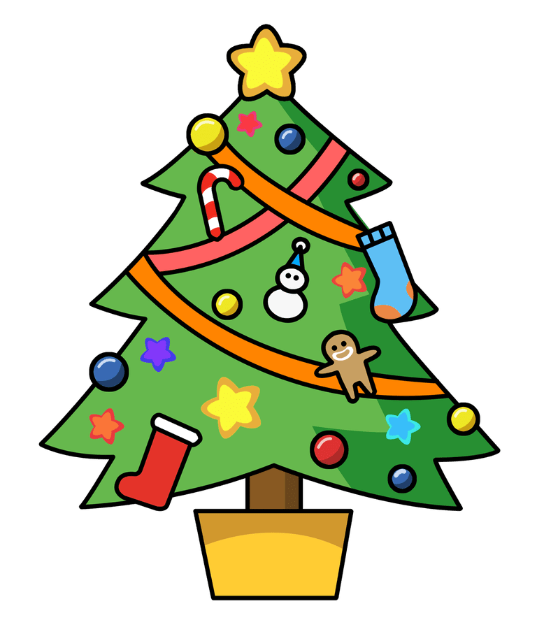 Image result for christmas tree clipart