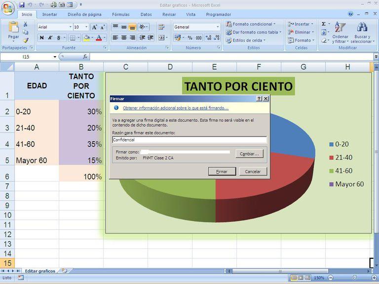 Seguridad y autenticidad archivos Excel
