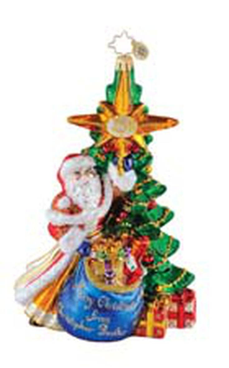 collecting christopher radko christmas ornaments