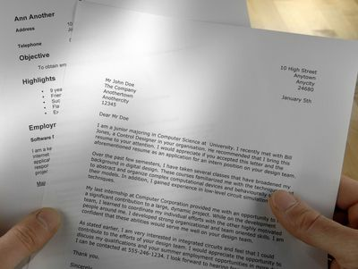 sample cover letter for your resume - Examples Of Cover Letters