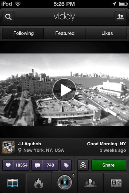 Viddy Video Sharing App