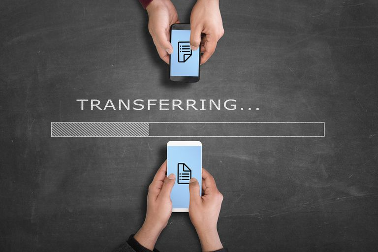 transfer contacts iphone