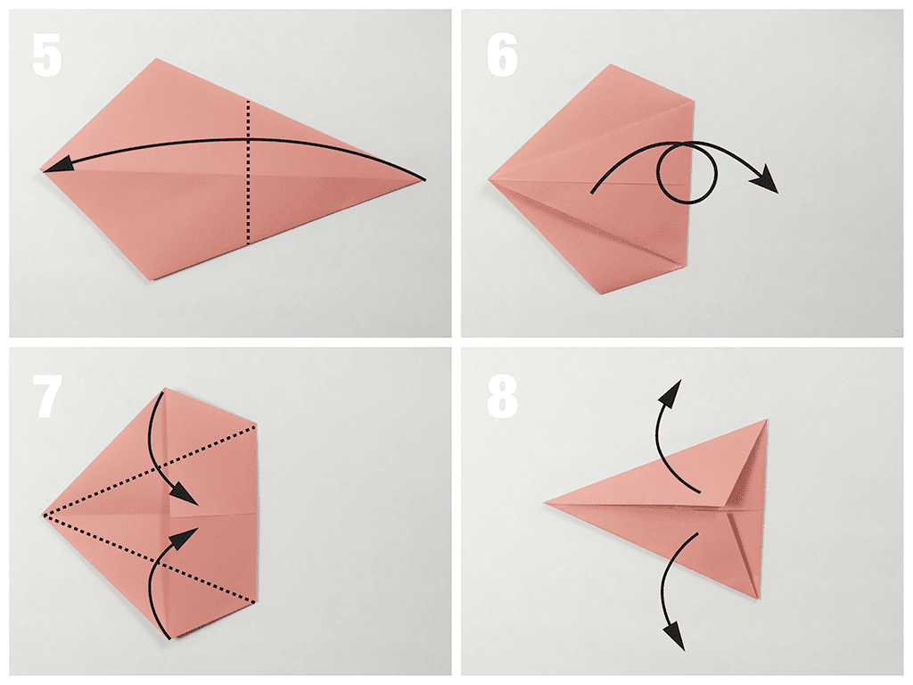 Head fish - Easy Origami instructions For Kids | 768x1024