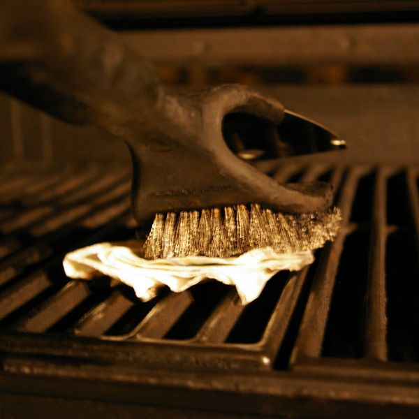 Oiling Cooking Grate