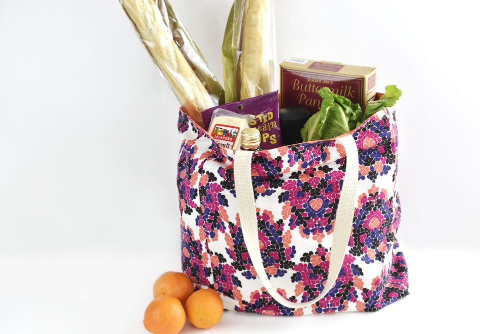 Sew a Durable DIY Grocery Bag