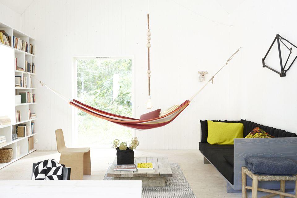 Swedish Indoor Hammock Living Room