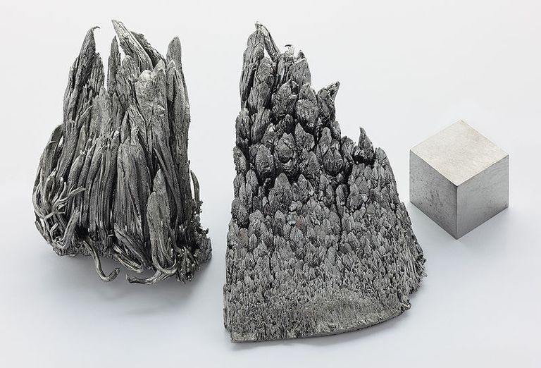Yttrium is a silvery rare earth metal.