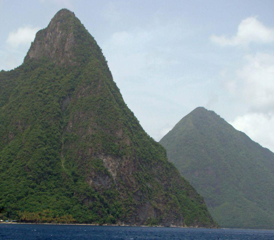 Near Soufriere, St. Lucia