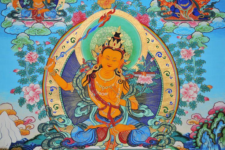 Manjusri Tibetan