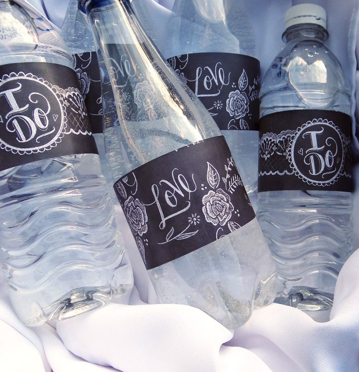 Sets Of Free Printable Water Bottle Labels