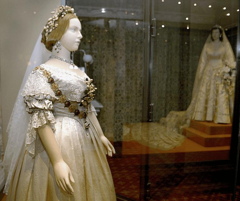 Wedding Gowns Queen Victoria and Queen Elizabeth II