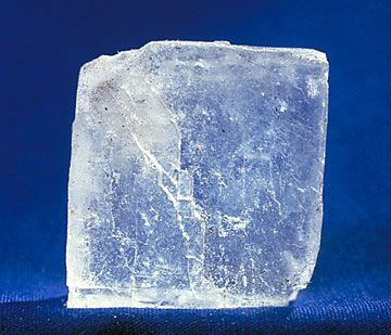 You can do a science fair project using an everyday material, like salt.