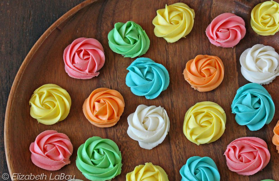 Cream Cheese Rosettes
