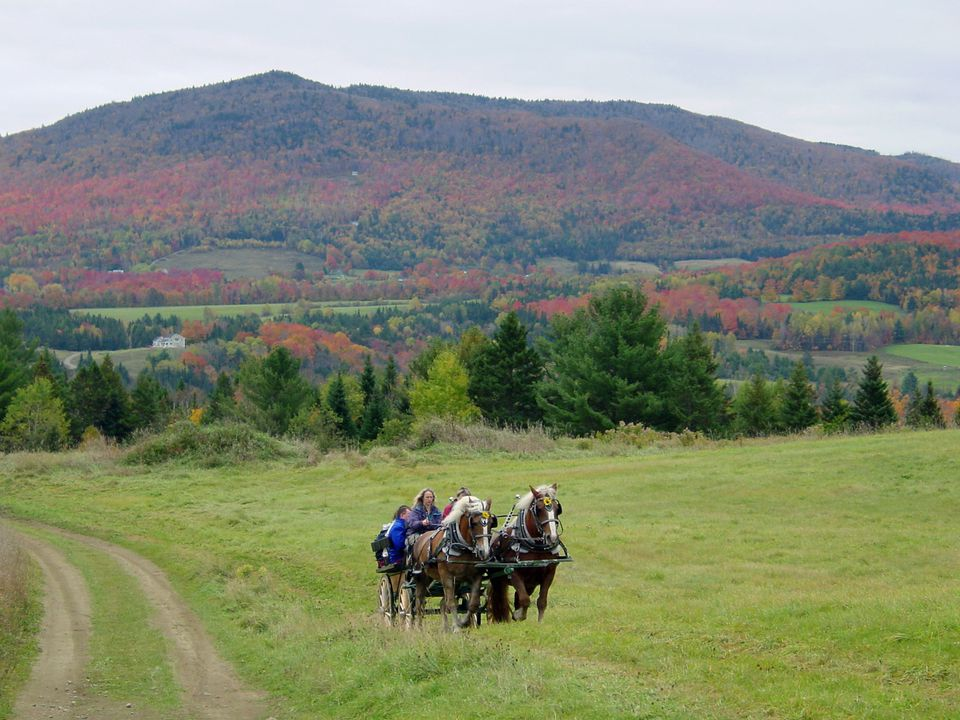 Fall Lodging in Vermont at Wildflower Inn