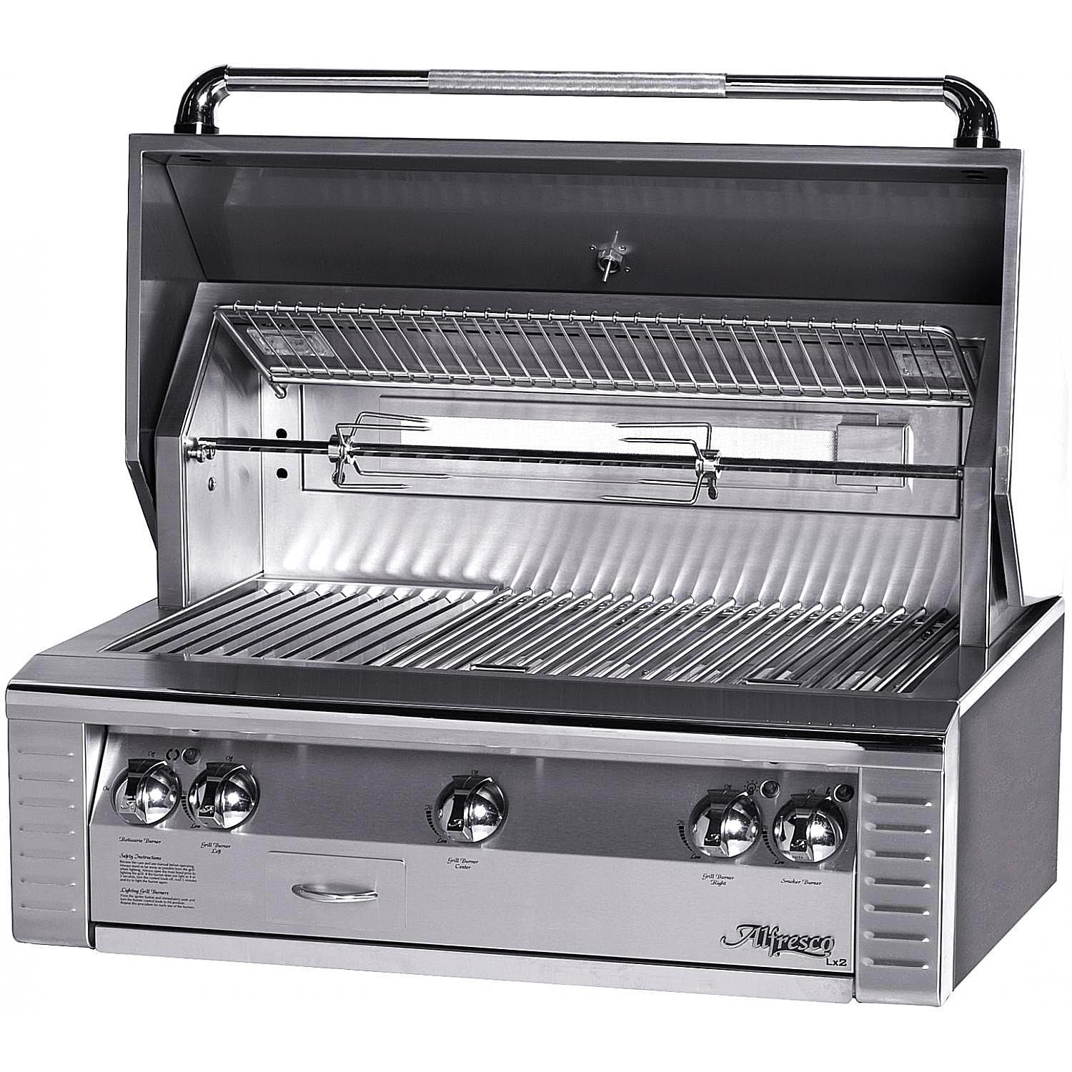 26 Built In Gas Grill Insert ~ Alfresco alx inch gas grill insert review