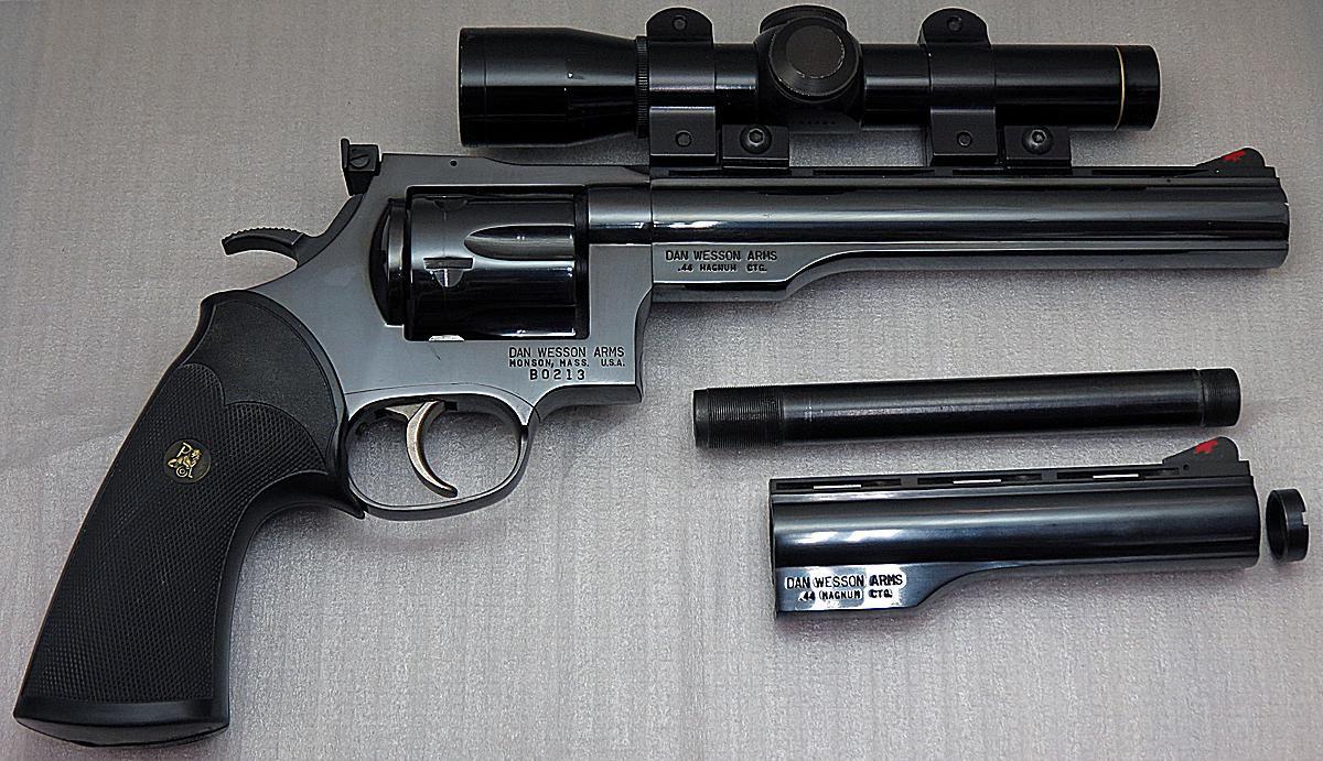 dan wesson model 44 magnum da revolver handgun review. Black Bedroom Furniture Sets. Home Design Ideas