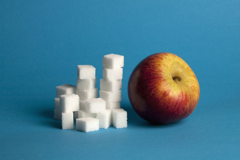 Sugar and fruit contain simple carbohydrates.