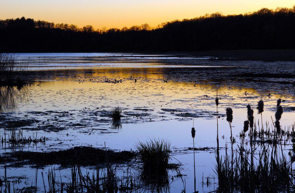 Kent Lake sunset