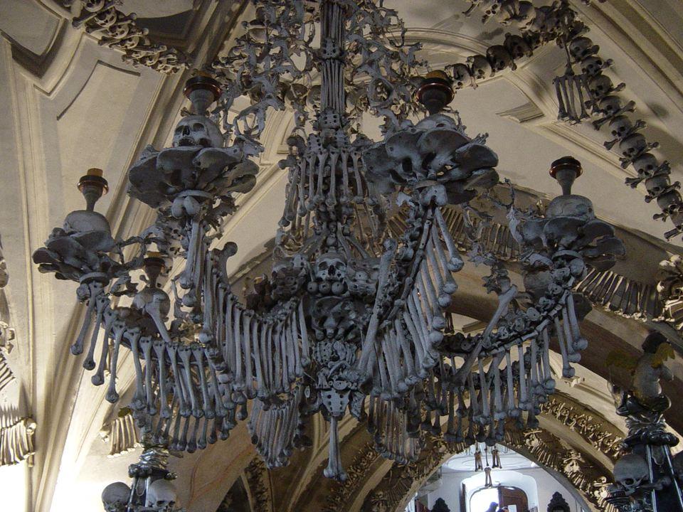 Sedlec Ossuary Chandelier