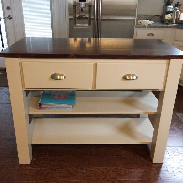 Michaela's Kitchen Island Plan from Ana White