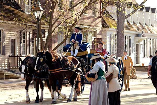 Photo of Colonial Williamsburg