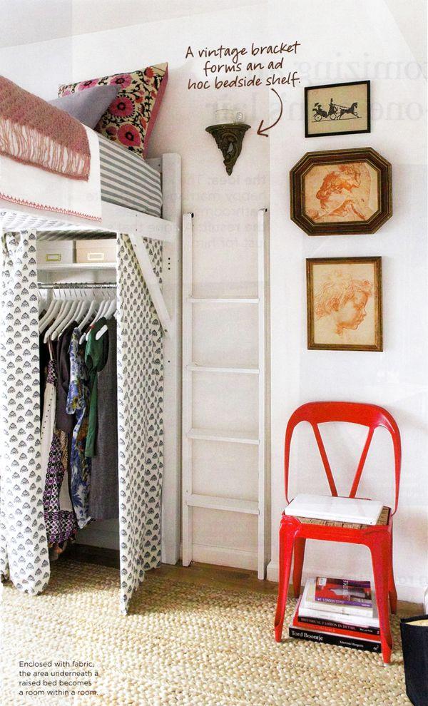diy closet room. DIY Closet Space Under Loft Bed Diy Room