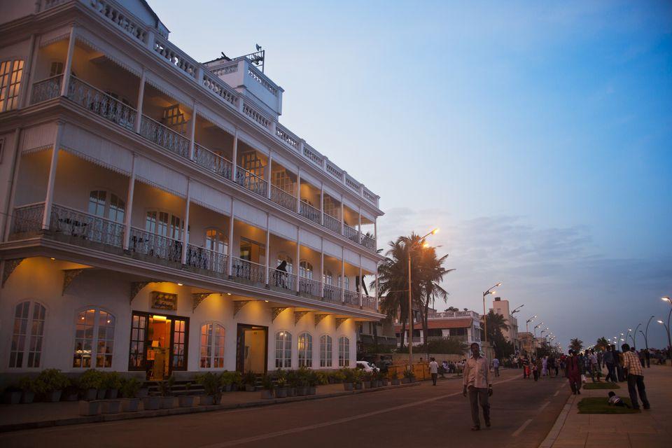 Lotus View Hotel on Pondicherry Promenade