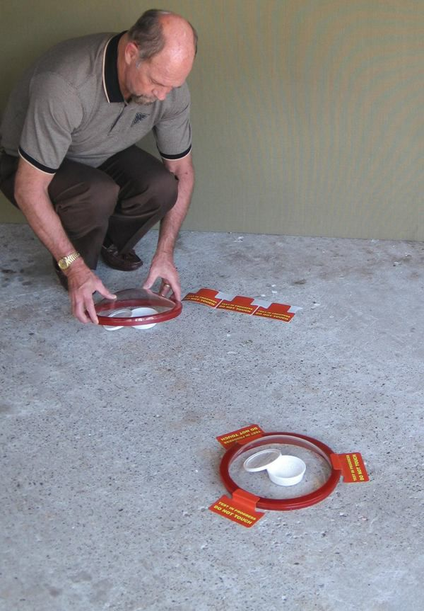 Testing A Concrete Floor For Moisture Issues