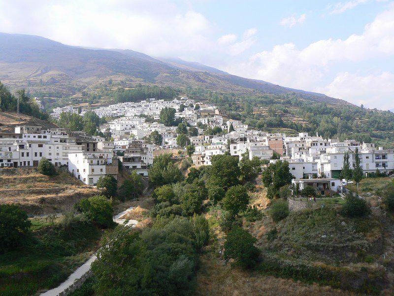 Trevelez, Alpujarras, a day trip from Granada.