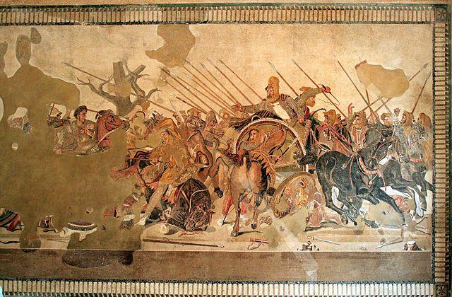 Ejemplo pintura helenística griega