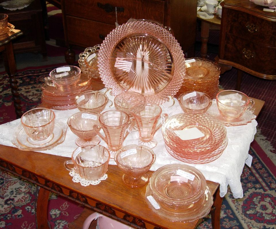 Depression Glass Patterns, Values, Colors and More