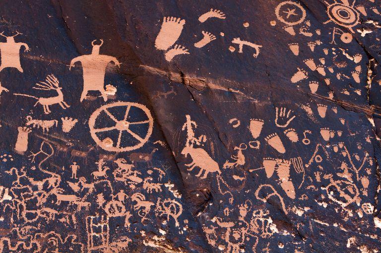 Petroglifos antiguos