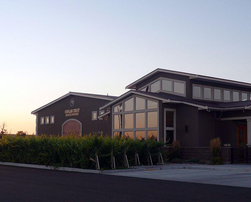Picture of Cougar Crest Estate Winery in Walla Walla WA © Angela M. Brown (2011)