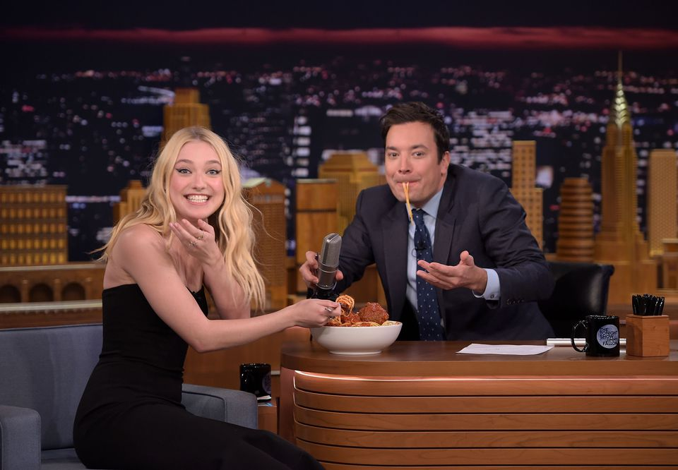 Dakota Fanning Visits 'The Tonight Show Starring Jimmy Fallon'