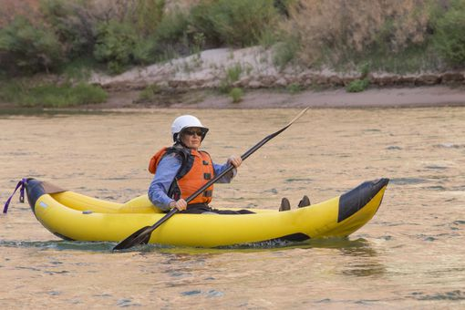 Kayaking on Colorado River Grand Canyon Arizona