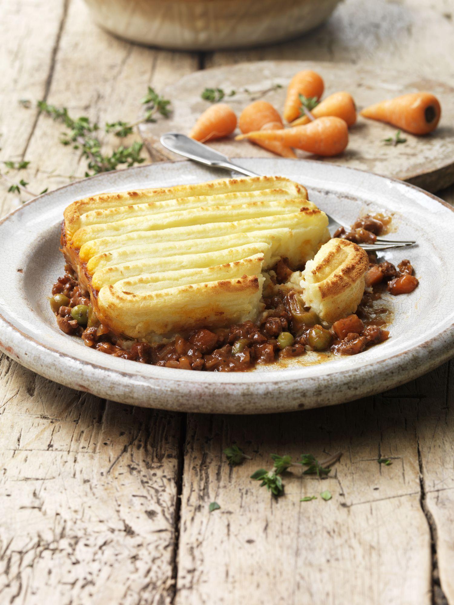 Vegan Shepherd S Pie Recipe With Green Peas And Tvp