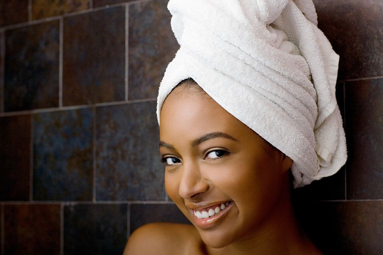 Regular cleansing is important in maintaining healthy hair.