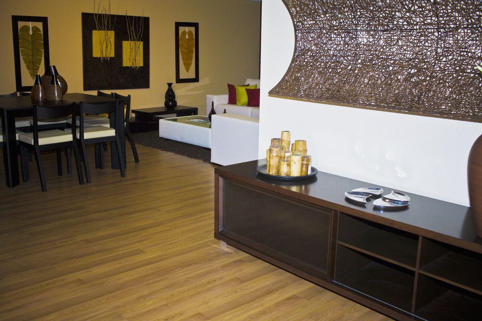 Bamboo Floor 126175330