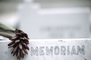 In Memoriam Headstone
