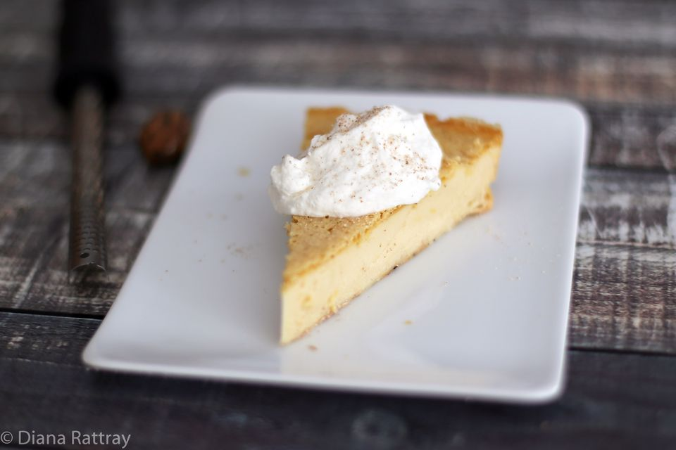 No Crust Custard Pie
